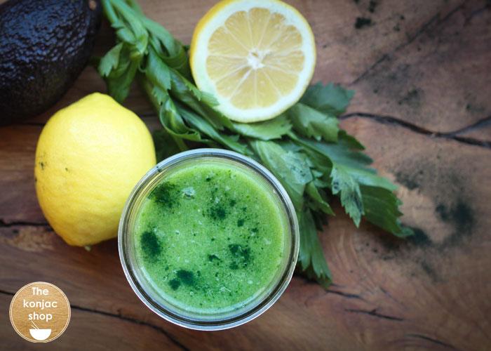Green detox con glucomanano – 127kcal