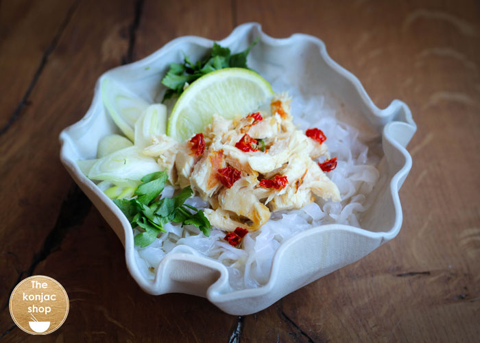 Sopa Vietnamita con Tallarines Konjac – 270kcal